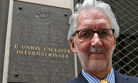 Brian Cookson, presidente dell'Uci