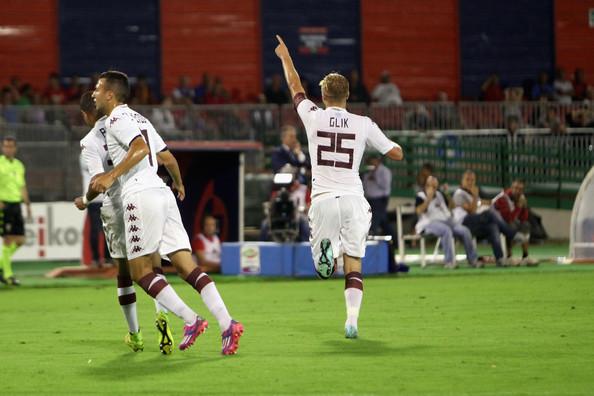 Kamil Glik punisce il Cagliari: è il migliore in campo