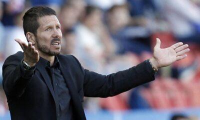 Diego Pablo Simeone, ex giocatore dell'Inter e attuale allenatore dell'Atletico Madrid