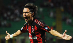 Filippo Inzaghi, ex attaccante ed attuale allenatore del Milan