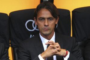 Filippo Inzaghi, il suo Milan è stato fermato sul 2-2 dall'Empoli