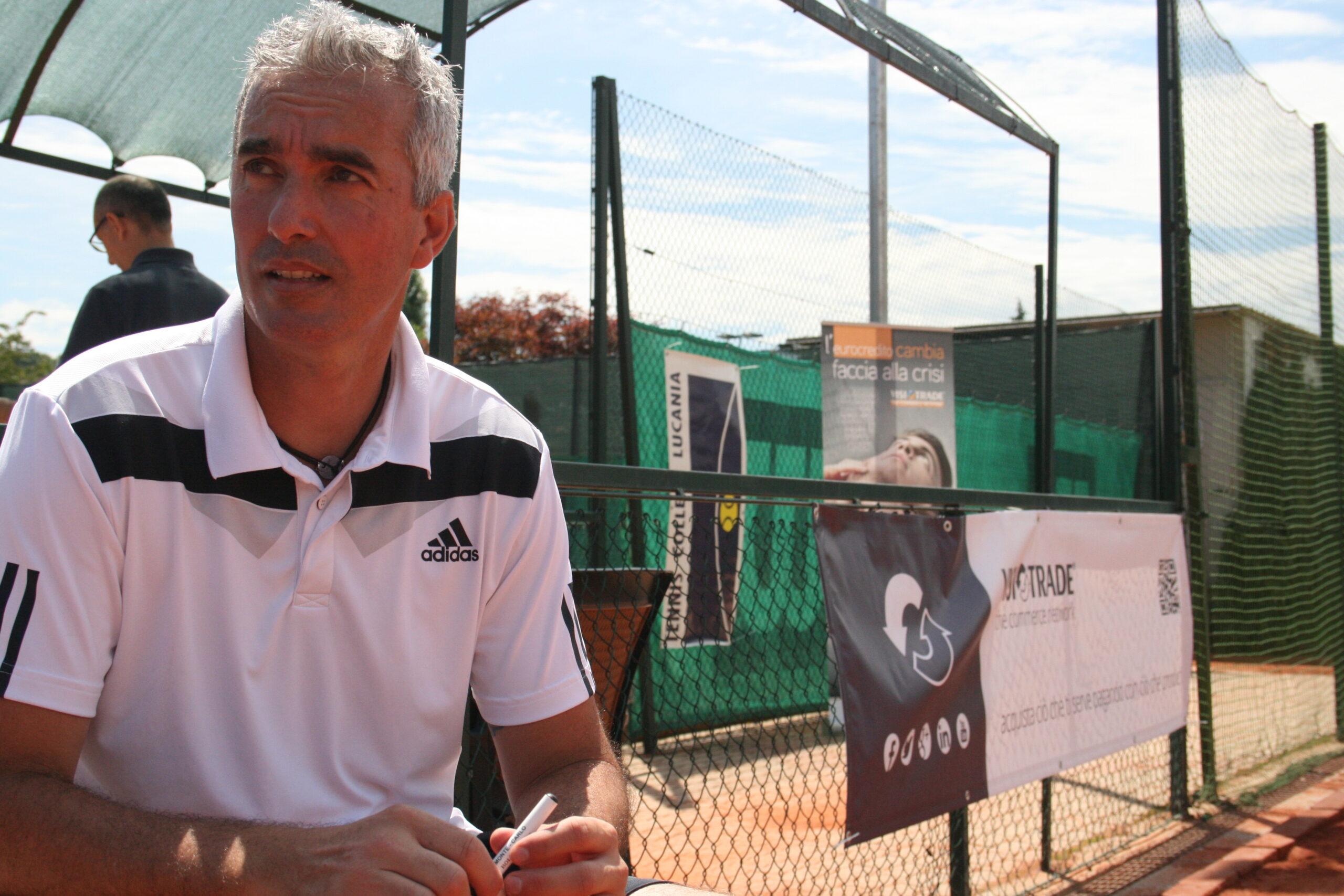 Davide Sanguinetti, ex numero 42 della classifica mondiale