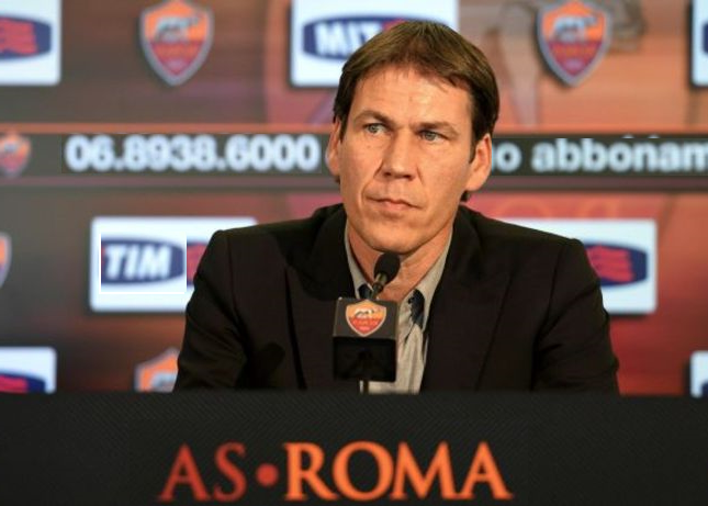 conferenza stampa garcia empoli roma