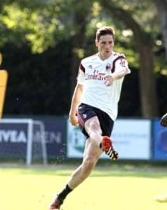 Torres potrebbe debuttare nel match tra Milan e Juventus