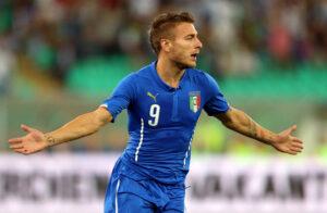 Ciro Immobile, attaccante della Nazionale.