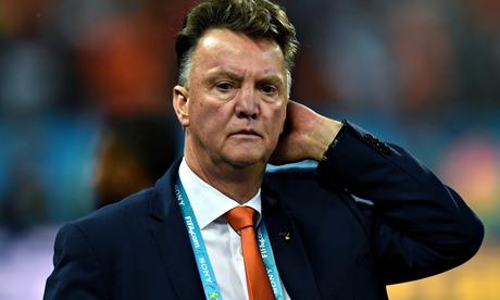 Louis van Gaal, tecnico del Manchester United