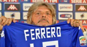"""Massimo Ferrero, """" Viperetta """" presidente della Sampdoria"""