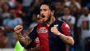 """Mauricio Pinilla, giustiziere della Lazio nella sfida di """"Marassi"""""""