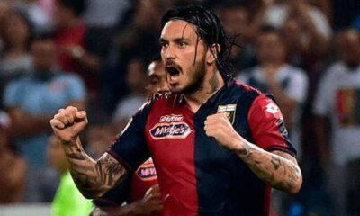 Mauricio Pinilla, sempre tra i migliori del Genoa.