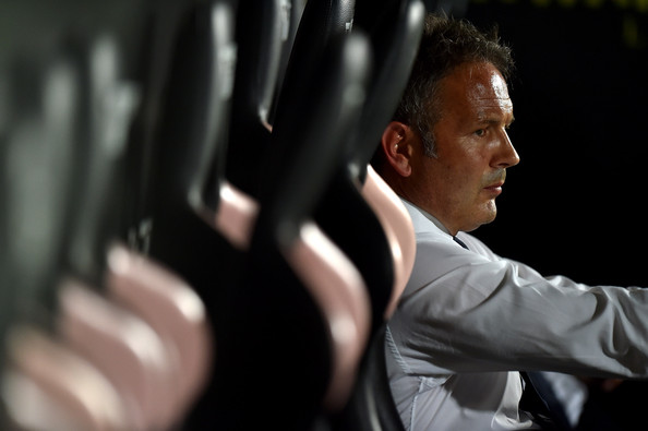 Sinisa Mihajlovic, allenatore del Milan.
