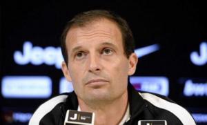Il tecnico della Juventus Massimiliano Allegri, intenzionato a confermare la difesa a 4 già vista contro l'Olympiacos
