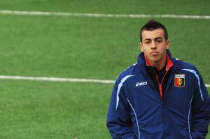 Stephan El Sharaawy ai tempi in cui militava nella Primavera del Genoa, con cui ha conquistato il titolo di Campione d'Italia nella stagione 2009/2010