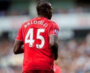 Mario Balotelli, attaccante del Liverpool