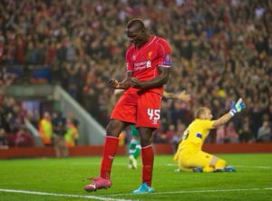 Balotelli, Liverpool-Ludogorets 2-1