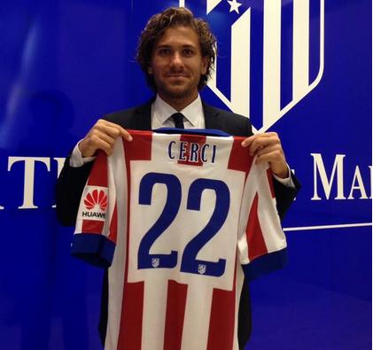 Cerci Inter presentato dall'Atletico Madrid