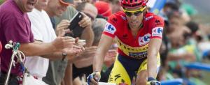 Alberto Contador, vincitore della sedicesima tappa della Vuelta