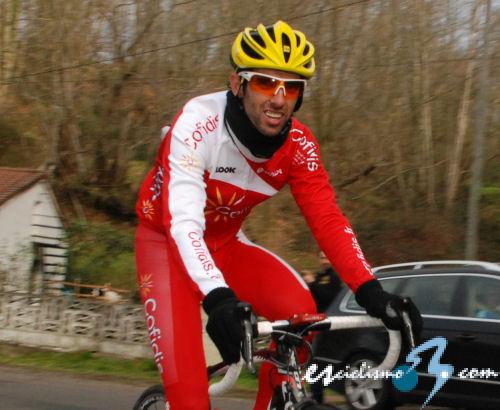 Daniel Navarro, vincitore della tredicesima tappa dell Vuelta 2014