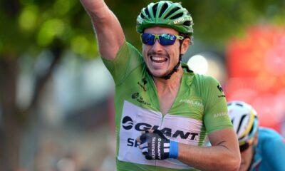 John Degenkolb, la maglia verde della Vuelta