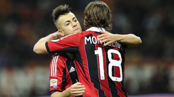 Montolivo ed El Shaarawy, futuro italiano del Milan