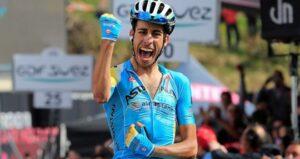 Fabio Aru, corridore dell'Astana
