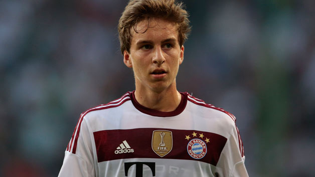 Gianluca Gaudino, difensore del Bayern Monaco