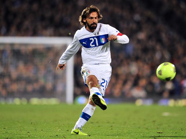 Andrea Pirlo, leggenda della nazionale azzurra