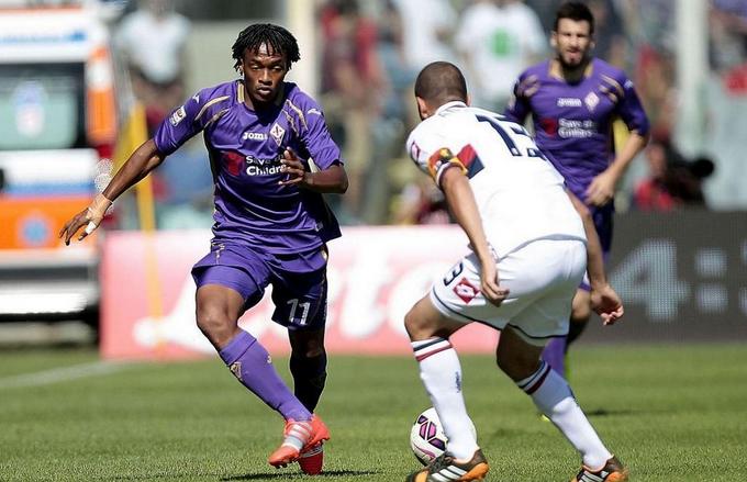 Fiorentina-Genoa 0-0, Cuadrado