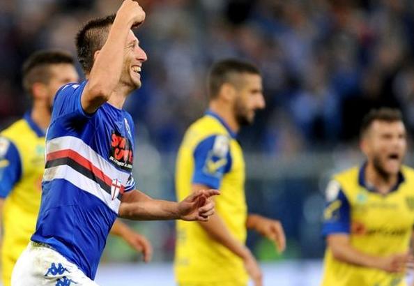 Gastaldello, in gol nel 2-1 al Chievo