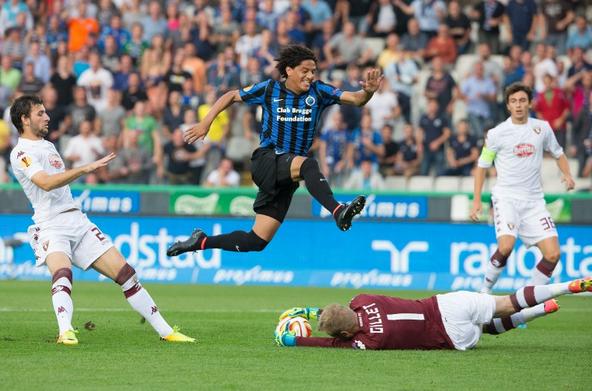 Brugge-Torino 0-0, Gillet