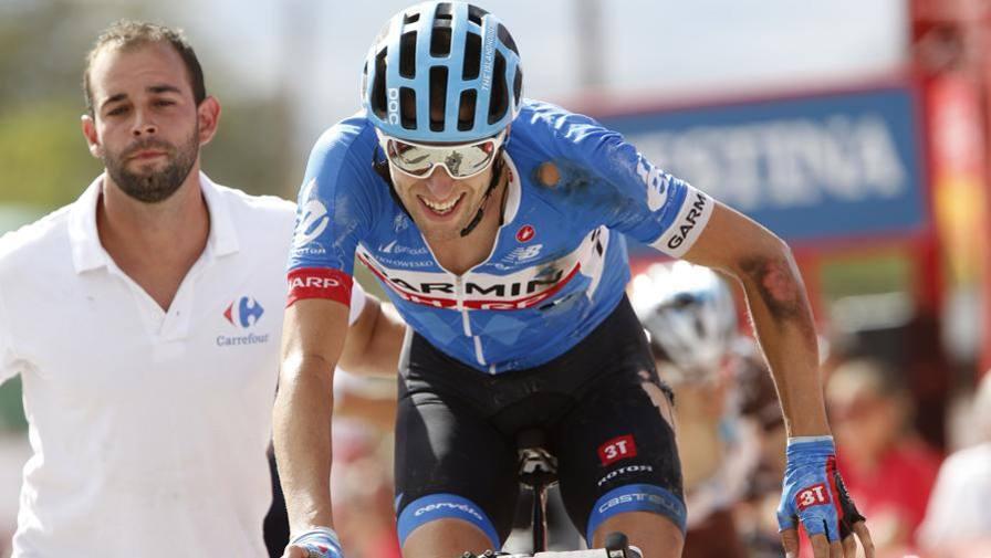 Ryder Hesjedal, vincitore della quattordicesima tappa della Vuelta 2014
