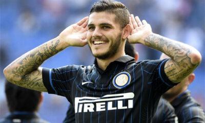 Mauro Icardi è uno dei pochi a salvarsi nell'Inter.