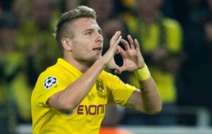 Ciro Immobile, attaccante del Borussia Dortmund