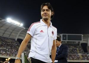 Pippo Inzaghi, allenatore esordiente in serie A alla guida del Milan