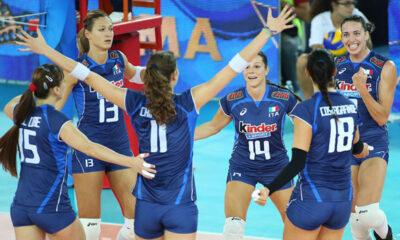 Mondiali di Volley: l'Italia batte anche la Cina