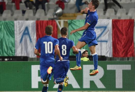 Italia all'Europeo Under 21.