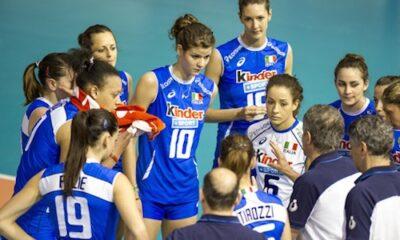 L'ItalVolley di Coach Bonitta sconfitta dalla Repubblica Dominicana