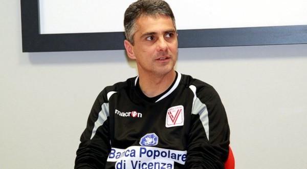 Giovanni Lopez, allenatore del Vicenza