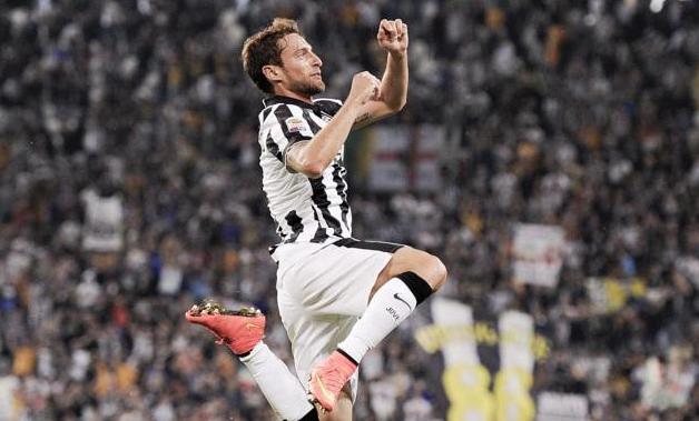 Marchisio, autore del secondo gol allo Stadium contro l'Udinese