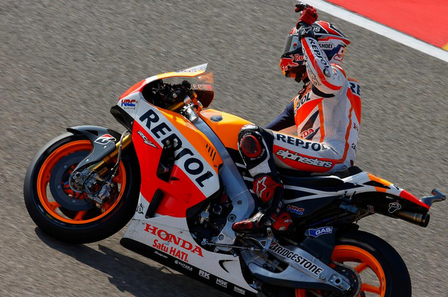 Marc Marquez, secondo titolo consecutivo in Moto Gp