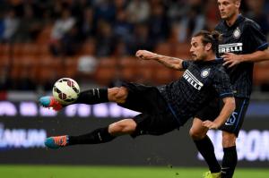 Osvaldo, autore della rete più bella della quarta giornata di Serie A