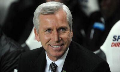 Alan Pardew, tecnico del Newcastle dal 2010