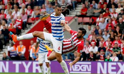Pellè in gol contro il QPR con una rovesciata