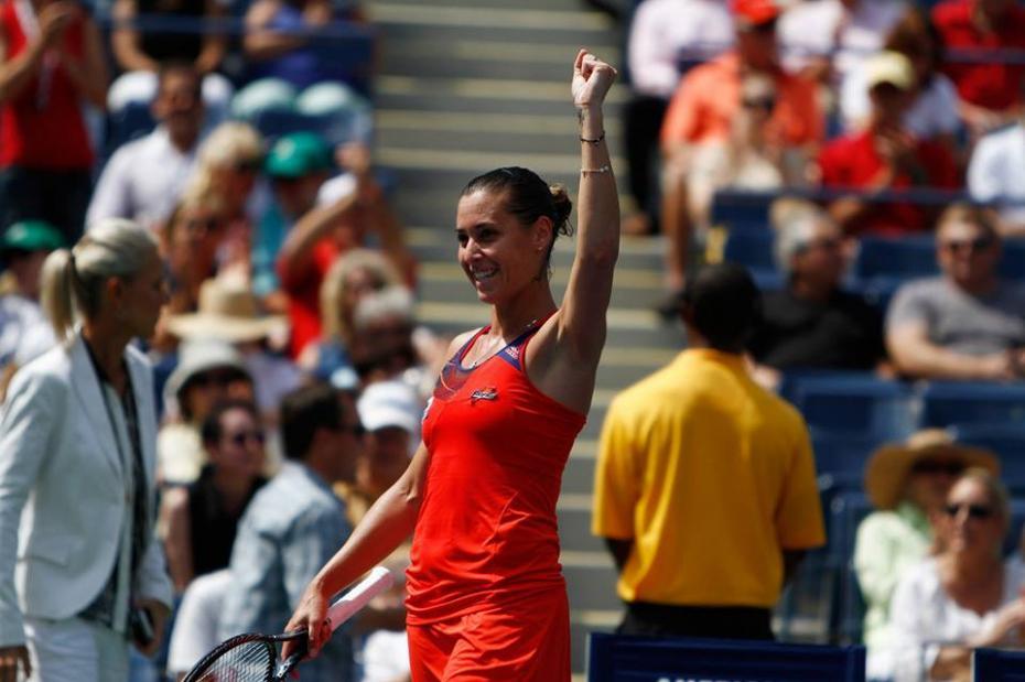 Flavia Pennetta, ai quarti di finale dello US Open
