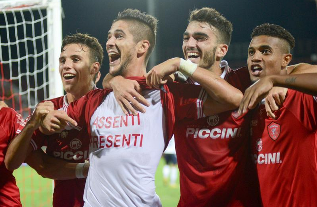 Il Perugia si conferma capoclassifica battendo il Catania