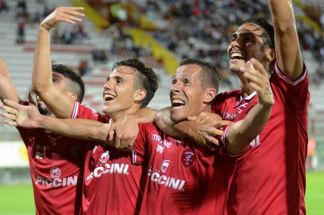 Serie B: il Perugia vince contro l'Entella