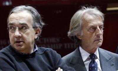 Sergio Marchionne e Luca Cordero di Montezemolo