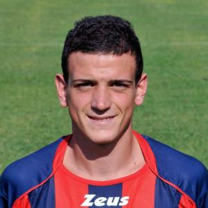 Un primo piano di Alessandro Florenzi con la maglia del Crotone, club in cui è approdato dopo aver vinto lo Scudetto Primavera con la sua Roma