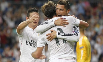 Real Madrid-Basilea 5-1