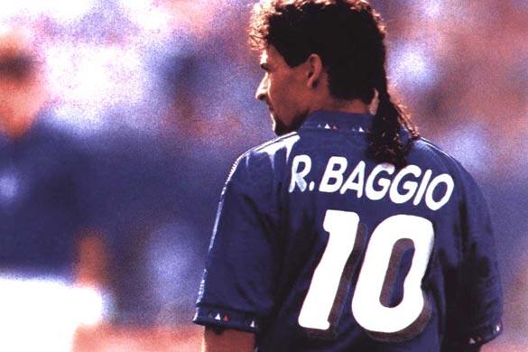 Roberto Baggio, protagonista della seconda puntata di Ritorno al Futuro