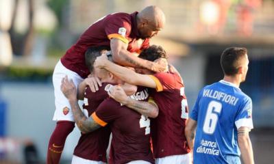 La Roma batte l'Empoli per 1-0 con l'autogol di Sepe